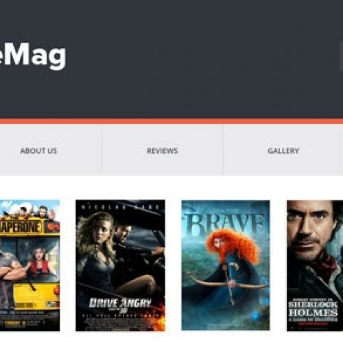 Movie Mag Blogger Film Teması