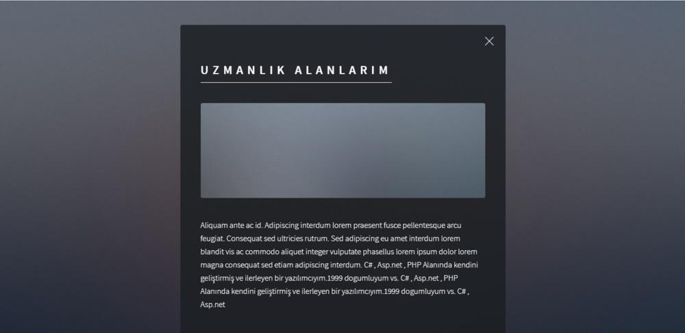 LamiaKP Ücretsiz Kişisel CV Scripti