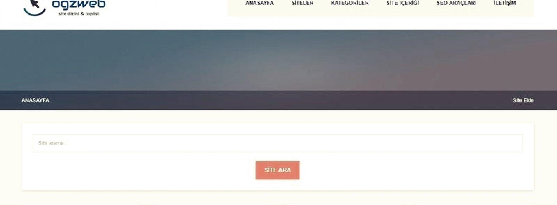 Ogznet Ücretsiz Site Dizini ve Toplist Scripti